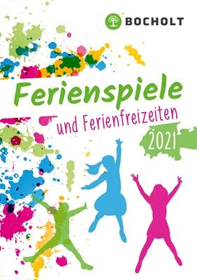 ©  - Broschüre Ferienspiele 2021 - Titelseite