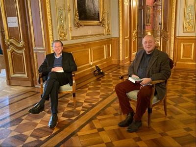 ©  - ZDF-Dreh im Schloss