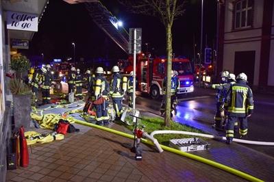 © Feuerwehr Hemer / Stock - Die Feuerwehr war mit einem Großaufgebot im Einsatz
