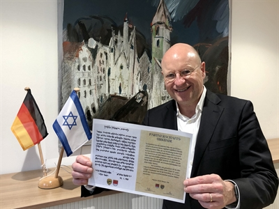 Rishon LeZion-Münster 40 Jahre