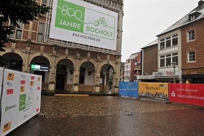 800 Jahre Stadt Bocholt - Logo, Countdown, Sponsoren