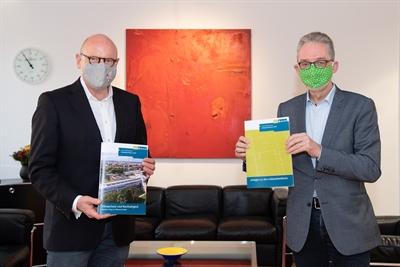Gebäudeleitlinien Klimaschutz, Markus Lewe und Matthias Peck
