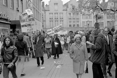 Schaufenster Stadtgeschichte Demo