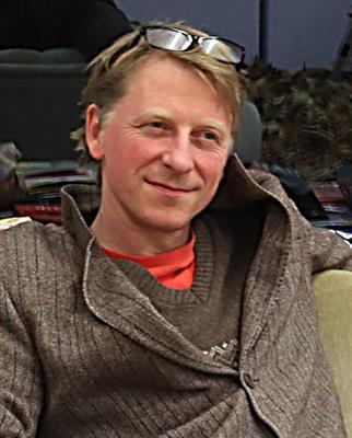 Stefan Demming, bildender Künstler aus Borken. Foto: Michael Rieken