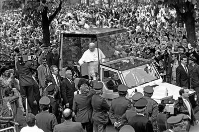 Papst Johannes Paul II in Münster