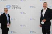 © Kreis Viersen - Dezernent Jens Ernesti mit Landrat Dr. Andreas Coenen