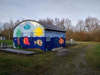 © EGLV - Fassadengestaltung am Deininghauser Bach in Castrop-Rauxel