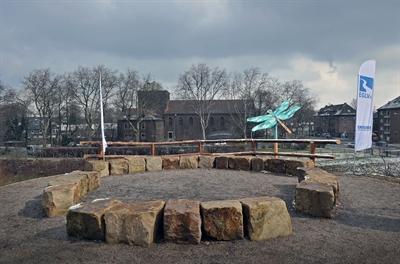 © EGLV - Aussichtsplattform an der Kleinen Emscher in Duisburg
