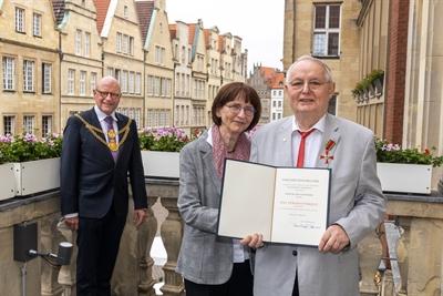 Bundesverdienstkreuz für Dr. Franz Kappenberg