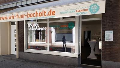 © Stadt Bocholt - Die Freiwilligen-Agentur Bocholt hat ihr Büro in der Langenbergstraße. Dort berät sie Vereine und Organisationen, aber auch Bocholterinnen und Bocholter, die sich für ein Ehrenamt interessieren.