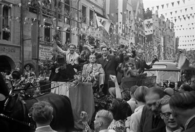 Preußen Empfang 1951