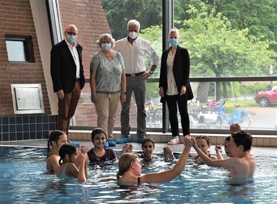 Münster lernt Schwimmen