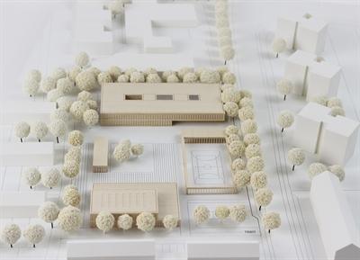 Modell Melanchthon-Schule Coerde