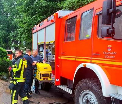 Feuerwehr Münster in Aachen