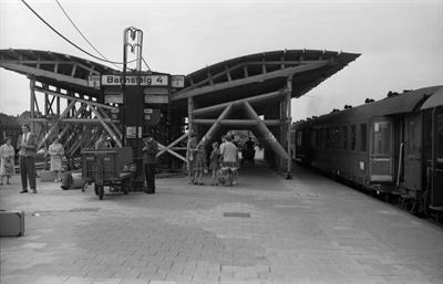 Hauptbahnhof 1960