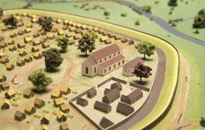 Stadtmodell Domburg