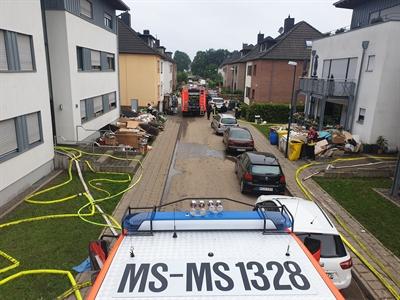 Unwettereinsatz Feuerwehr Eschweiler