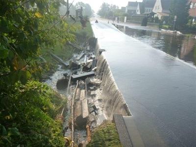 Hochwasser Sudmühlenstraße 2014