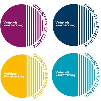 Logo Diversity in Excellence - Vielfalt mit Verantwortung