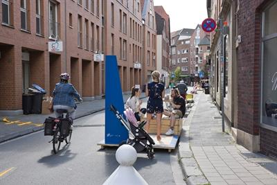 Verkehrsversuch: Hörsterstraße 4