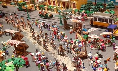 Playmobil-Ausstellung Kaiserbesuch