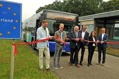 Buslinie C 11 Bocholt - Aalten offiziell freigegeben