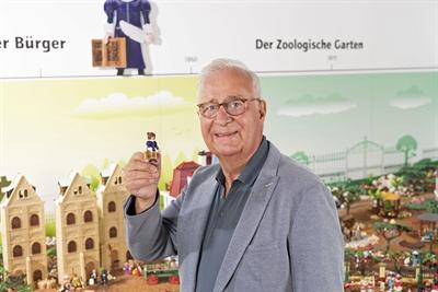 Joachim Herwig in der Playmobil-Ausstellung
