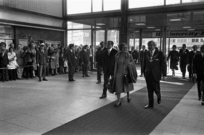 Münster 1971: Königin Juliana und Prinz Bernhard