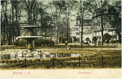 Servatiiplatz historisch