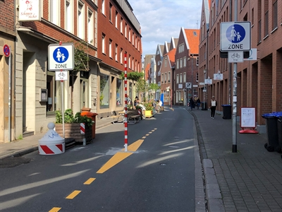 Verkehrsversuch: Hörsterstraße