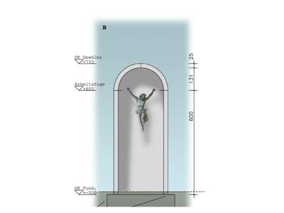 ©  - Der Rat hat sich mehrheitlich für die Variante mit Korpus ohne Kreuz entschieden.