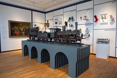 © Gehrmann - Weckt Erinnerungen: der Wirtschaftsraum in der Dauerausstellung des Sauerland-Museums // Foto: GEHRMANN