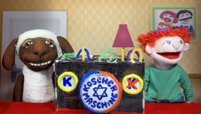 """© Bubales - Jüdisches Puppentheater Bubales: """"Die Koscher–Maschine"""""""