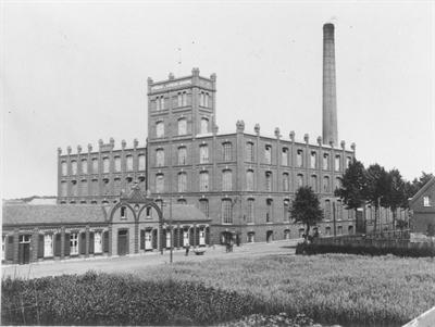 © Stadtarchiv Bocholt - Herding-Spinnerei um 1930