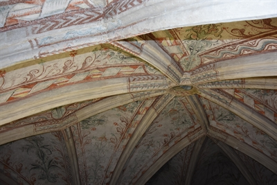 © Stadt Lippstadt - Malereien im Gewölbe der Marienkirche. Foto: Stadt Lippstadt