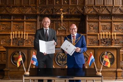 Städtepartnerschaft Münster - Enschede