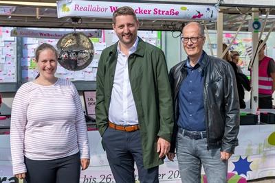 Reallabor Wolbecker Straße