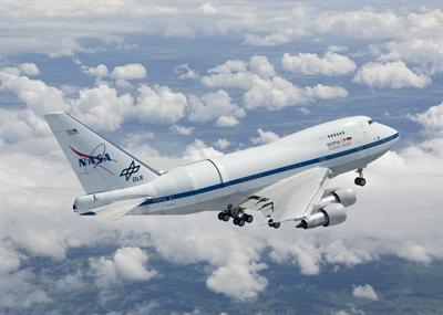 © NASA, Jim Ross - Das fliegende Teleskop SOFIA